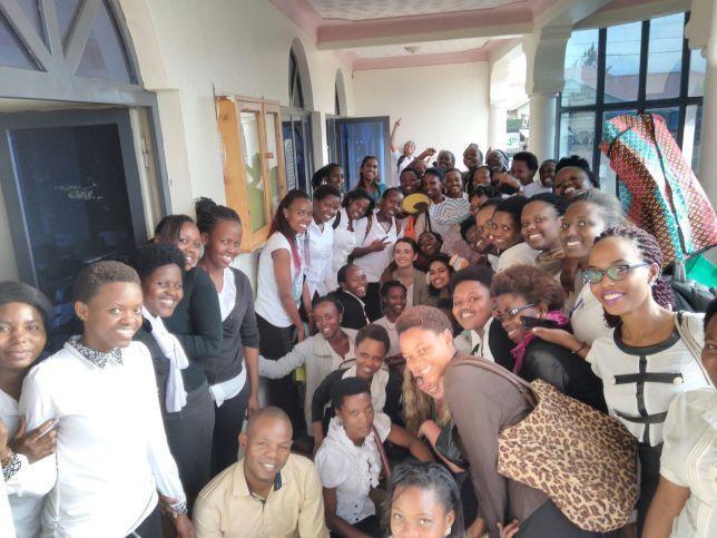 Students at Akilah