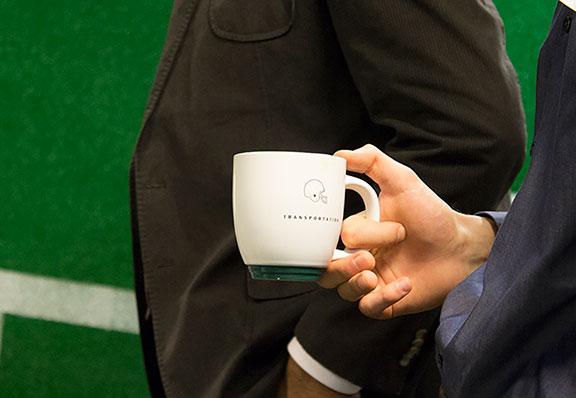 Quarterback Logo Mug