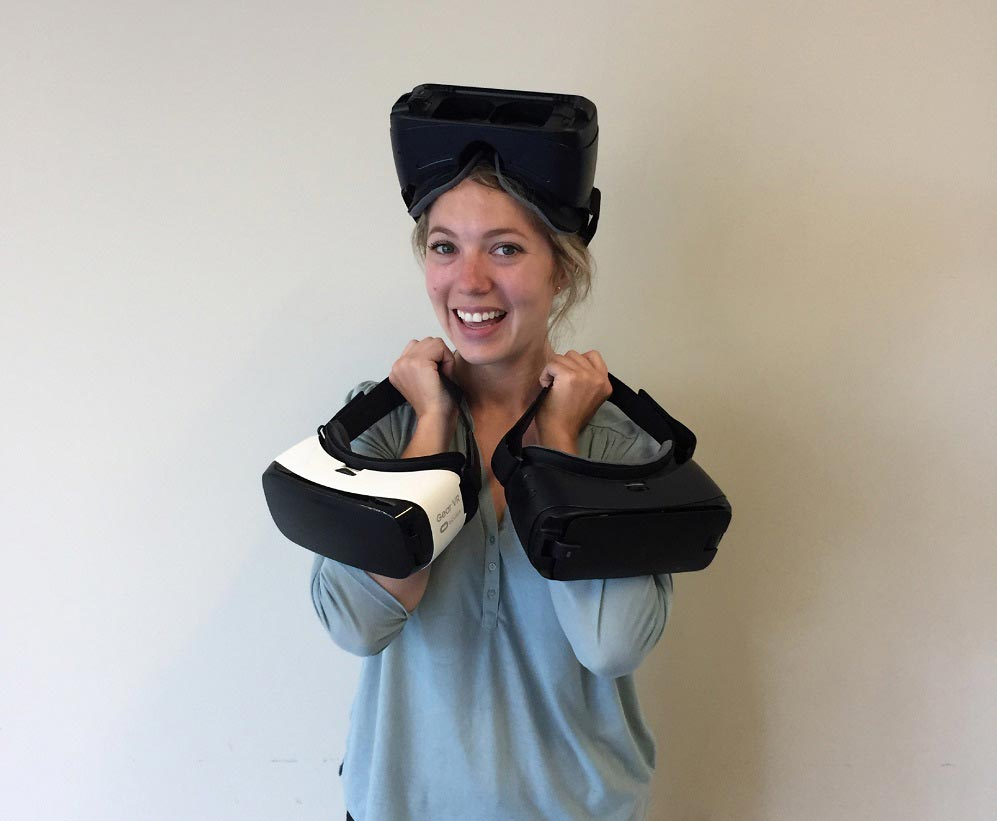 Juleigh with VR Headsets